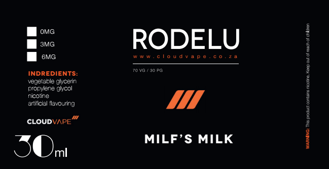 MILF MILK-RODELU Premium E-Liquid