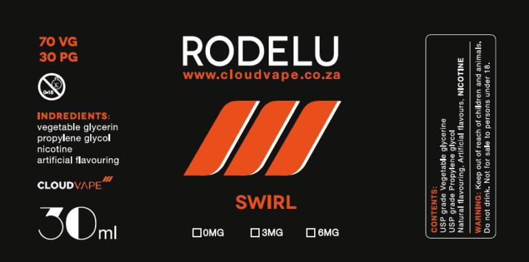 SWIRL RODELU eliquid Premium E-Liquid